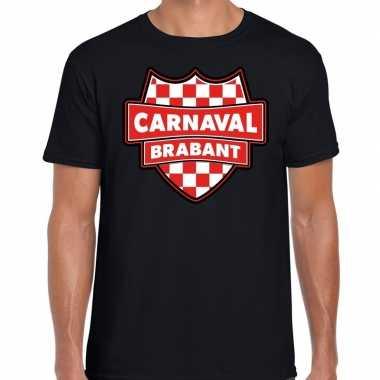 Carnaval verkleed t shirt brabant zwart voor heren