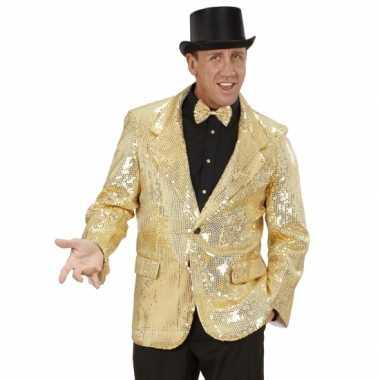 Colbert pailletten goud