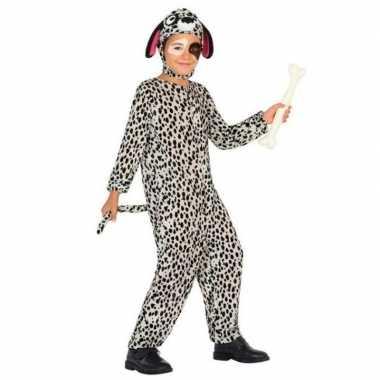 Dieren verkleedkleren hond/honden verkleed verkleedkleren dalmatier v