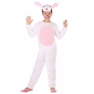 Dieren verkleedkleren konijn/haas verkleed verkleedkleren voor kinder