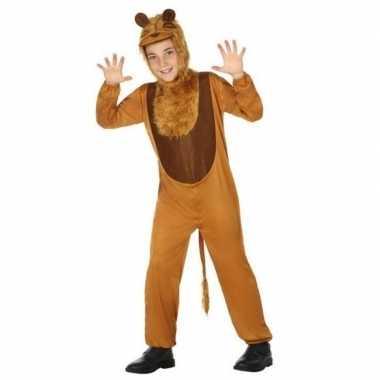 Dieren verkleedkleren leeuw/leeuwen verkleed verkleedkleren voor kind