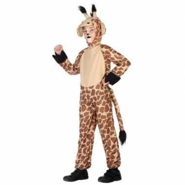 Dieren verkleedkleren verkleed verkleedkleren giraffe voor kinderen