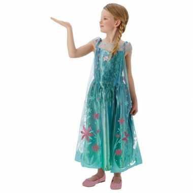 Elsa frozen fever verkleedkleren voor meisjes