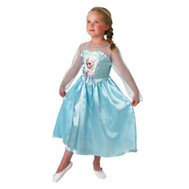 Elsa frozen verkleedkleren voor kinderen