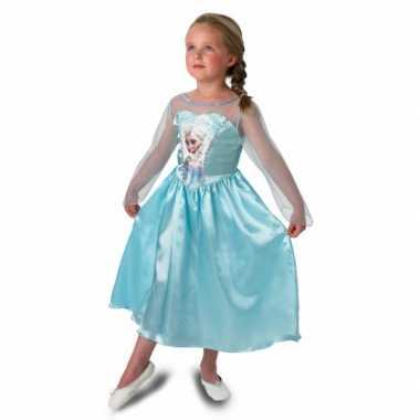 Elsa frozen verkleedkleren voor meisjes