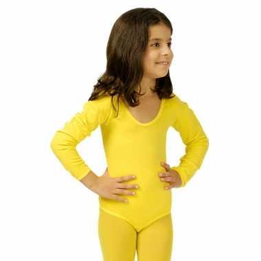 Gele kinder verkleedkleren