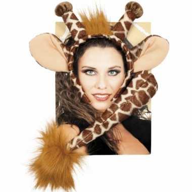 Giraffe verkleed setje