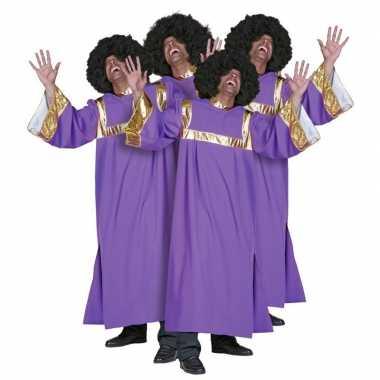 Gospel zanger verkleedkleren heren