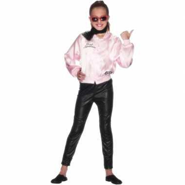 Grease pink lady jasje voor meisjes