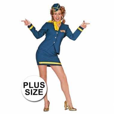Grote maten stewardess verkleedkleren