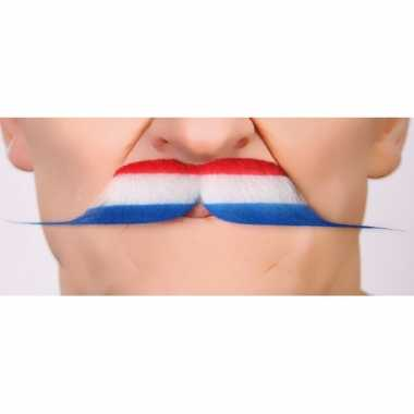 Holland koningsdag verkleedkleren accessoire snor