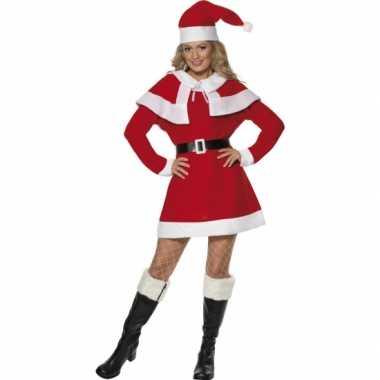 Kerst verkleedkleren dames rood