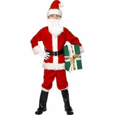 Kinder kerstman verkleedkleren luxe