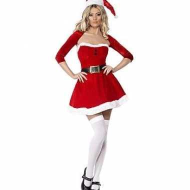 Kort kerst verkleedkleren met bolero