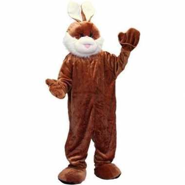 Luxe pluche konijn verkleedkleren