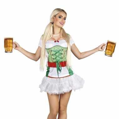 Oktoberfest-shirt tiroler oktoberfest opdruk dames