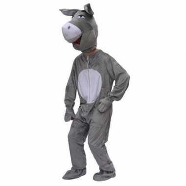 Pluche ezel verkleedkleren volwassenen