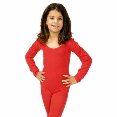 Rode kinder verkleedkleren