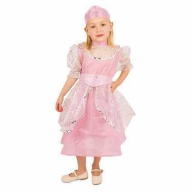 Roze prinsessen verkleedkleren kinderen
