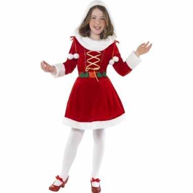 Santa kerst verkleedkleren voor meisjes