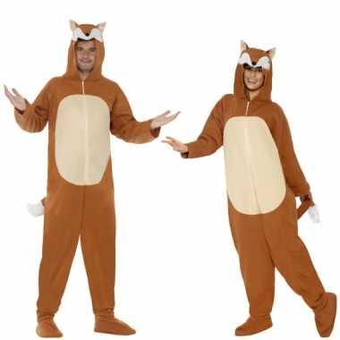 Verkleedkleren vos voor volwassenen