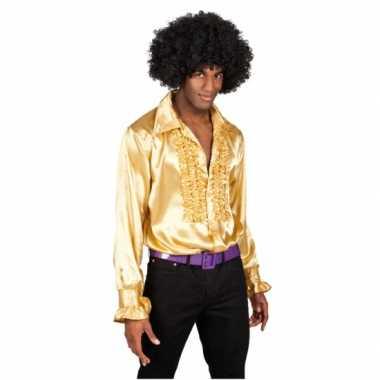 Voordelige gouden rouches verkleedkleren