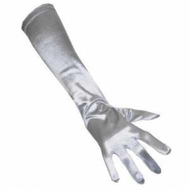 Zilveren handschoenen gala