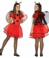 Dieren verkleedkleren lieveheersbeestje verkleed verkleedkleren verkleedkleren voor meisjes