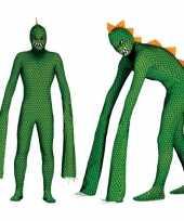 Reptielen monster verkleedkleren voor mannen