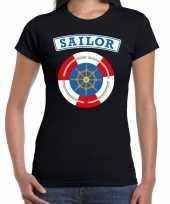 Zeeman sailor verkleed t shirt zwart voor dames